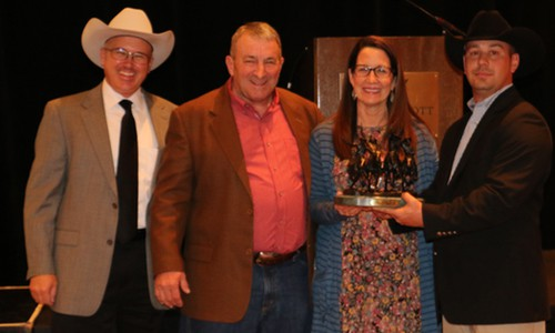 2016 Breeder of the Year Mike Vorel<img src=