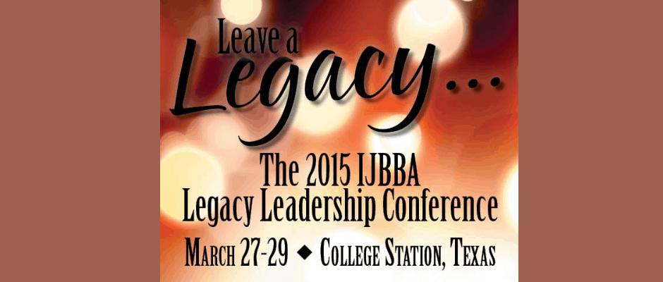 2015 IJBBA Legacy Leadership Conference