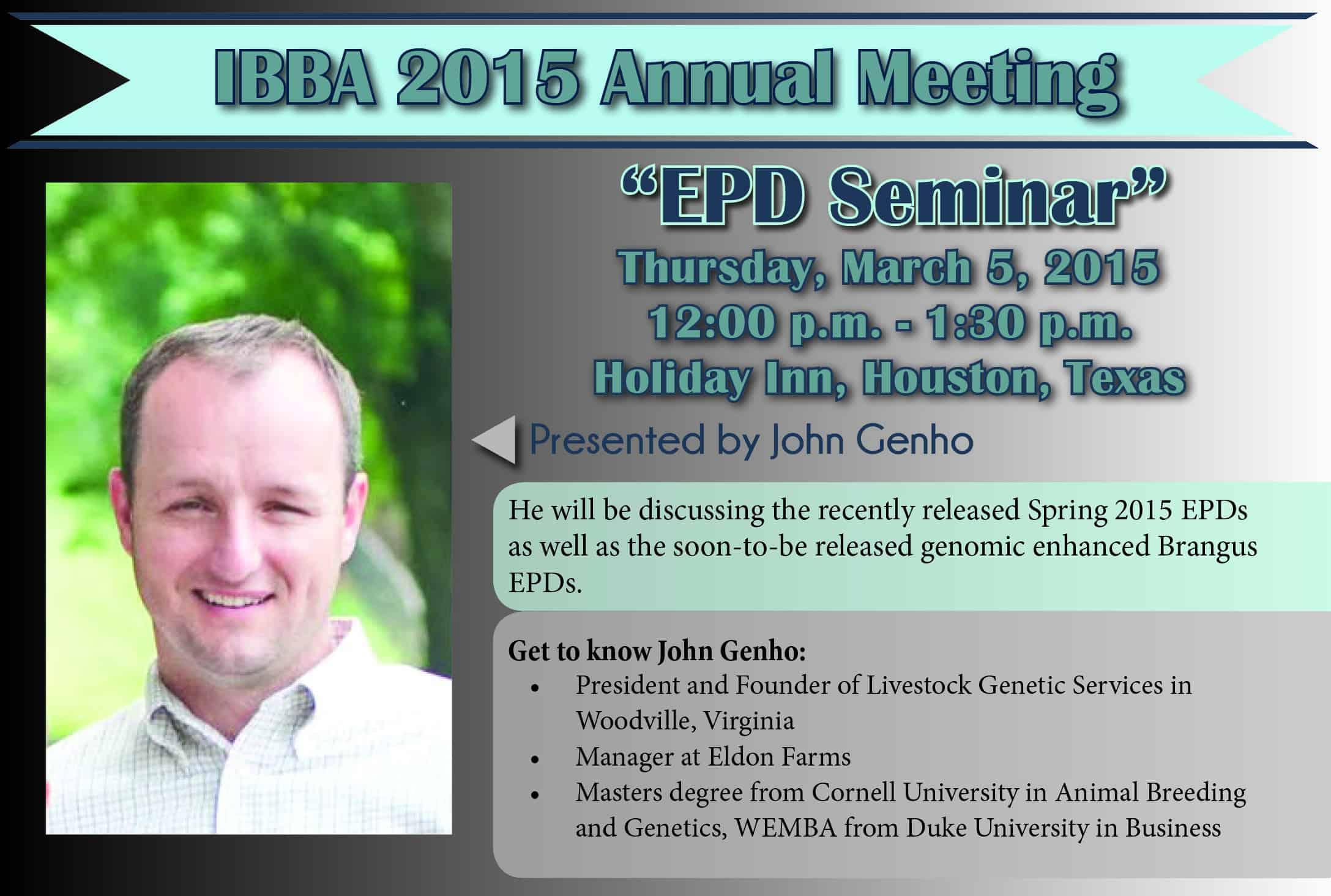 2015 EPD Seminar