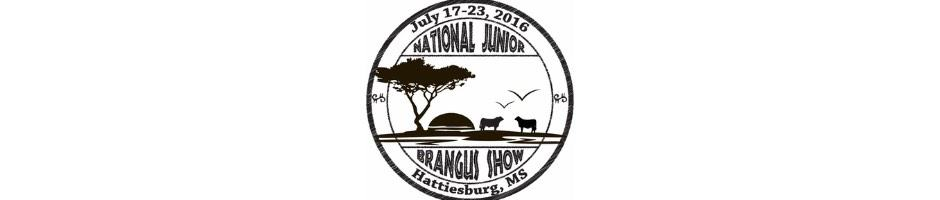 2016 National Junior Brangus Show (NJBS) and Futurity