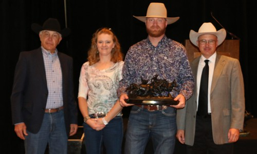 2016 Commercial Producer of the Year Zak Frosty Tipton, T Quarter Circle Ranch