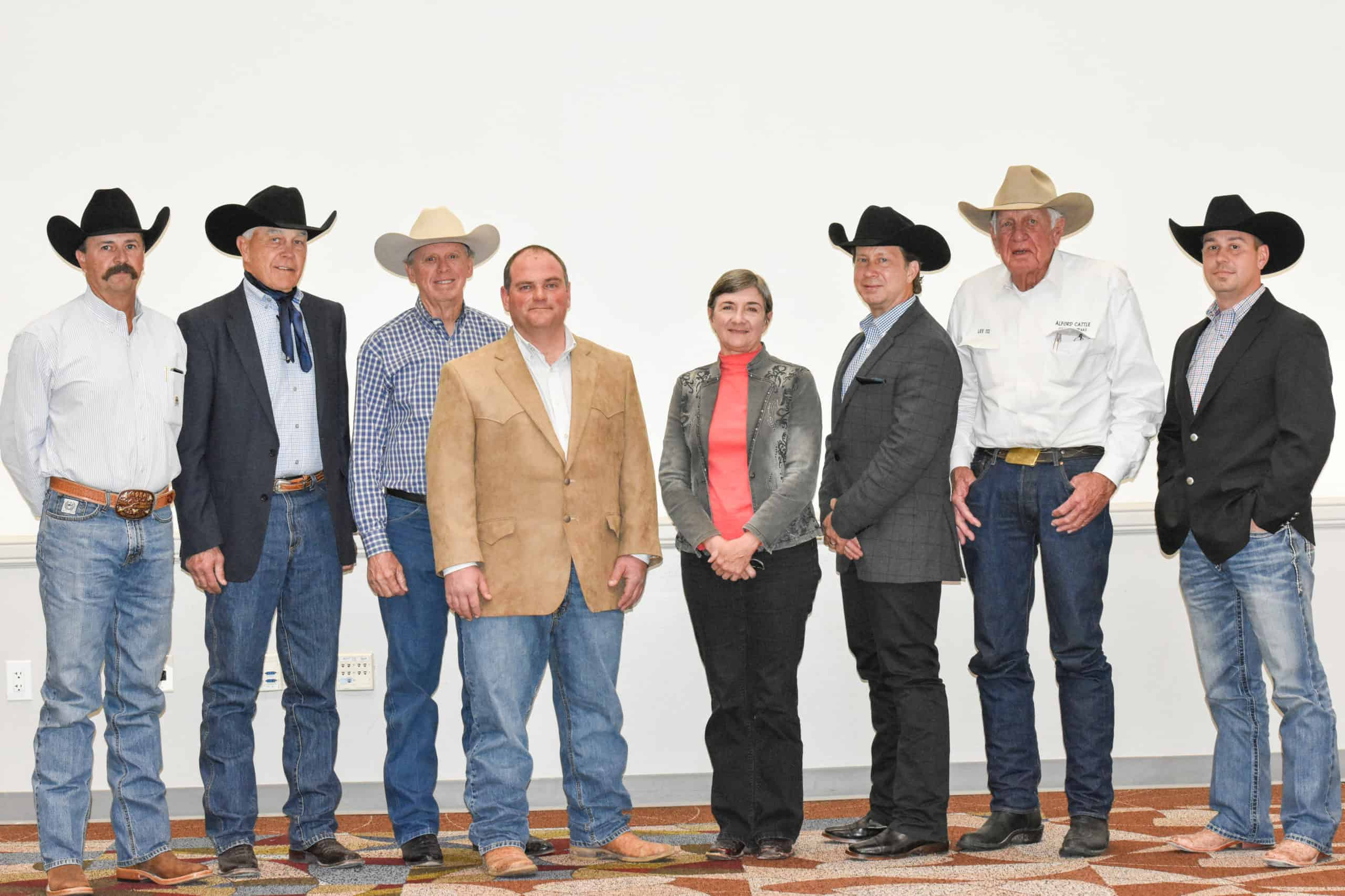 Left to Right: Rob Singleton, Vern Suhn, Mike Weathers, Jeremy Jackson, Mary Douglass, Allen Goode, Lee Alford, Shiloh Hall(Not Pictured: Chris Heptinstall, Greg Romans, Dr. Randy Schmidt, Trey Cuevas, Troy Floyd)
